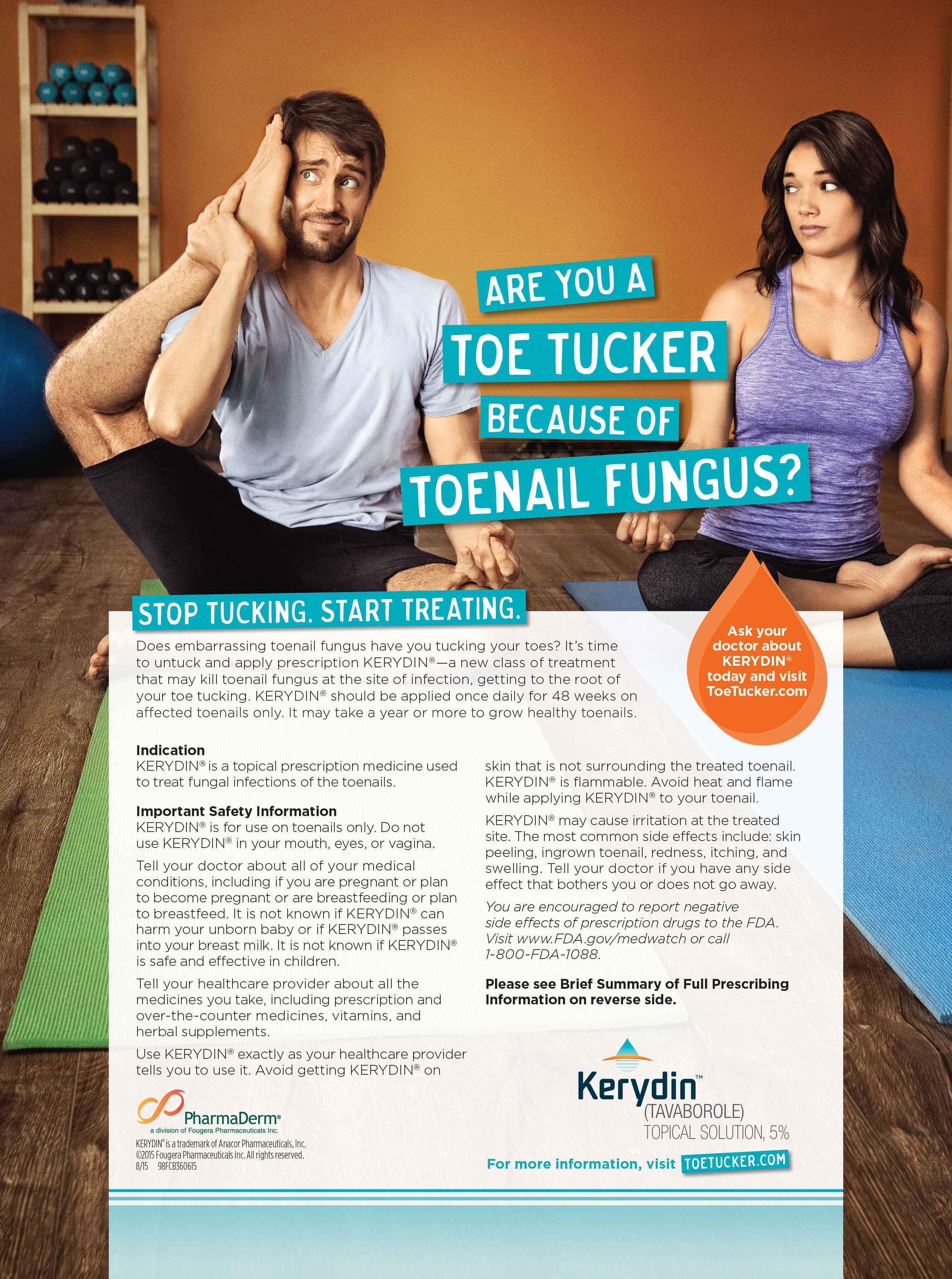 "FCB Health\'s Kerydin campaign aims at ""toe tucking"" | PharmaLive"